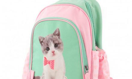 Des cartables chats et des cartables chiens pour votre enfant